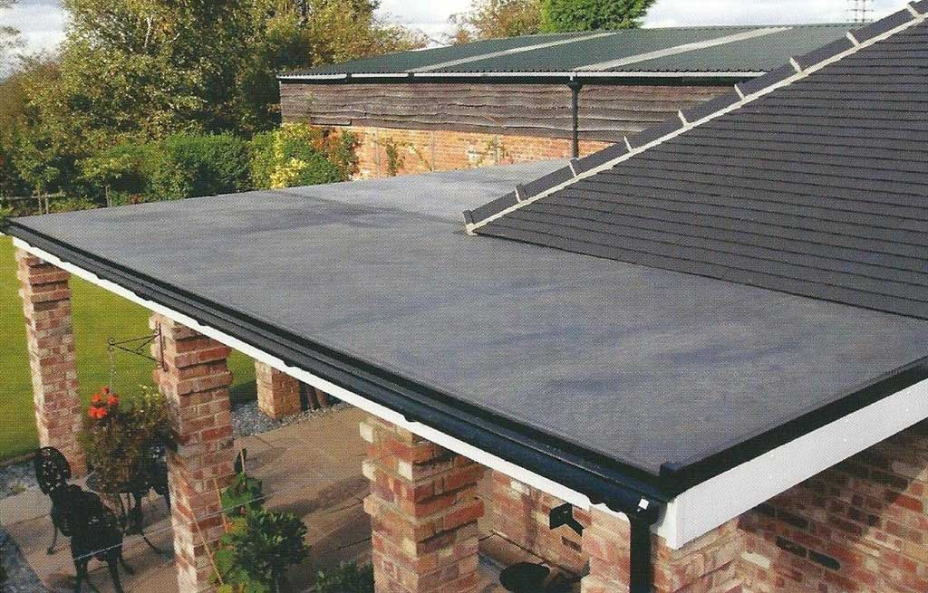 Flat roofing services Telford