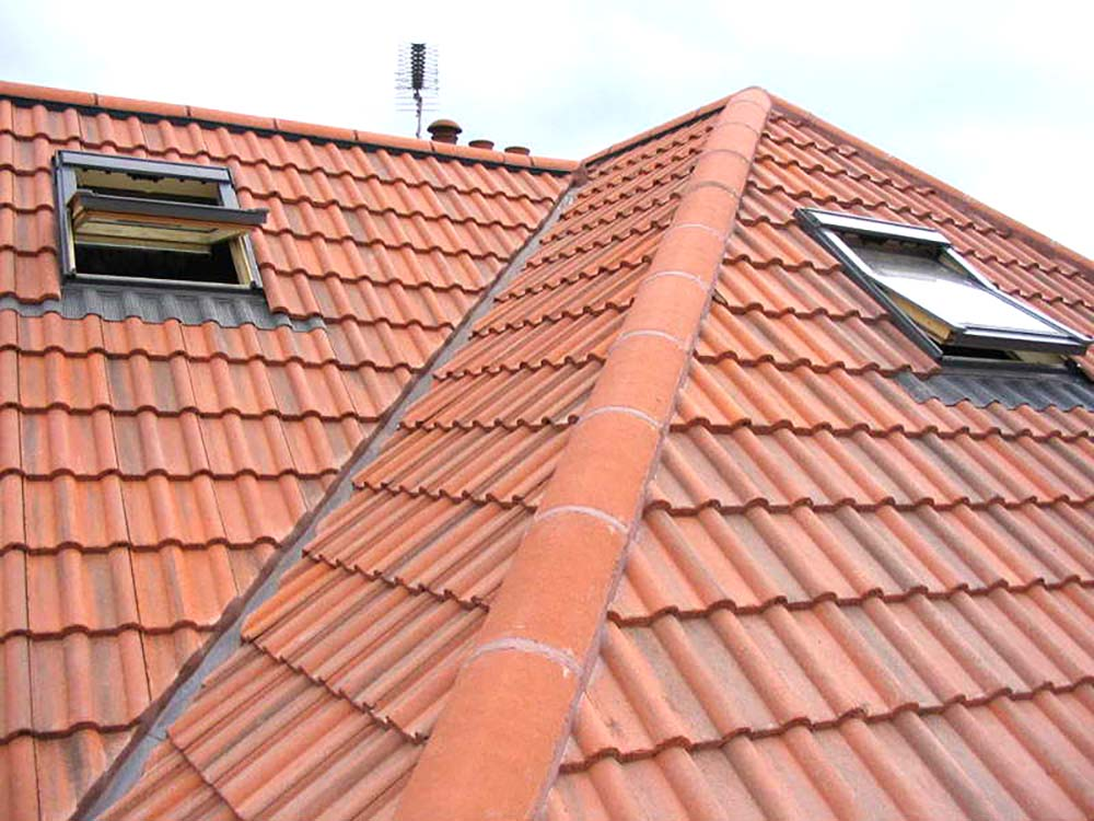 Tiled roofing Newport Telford