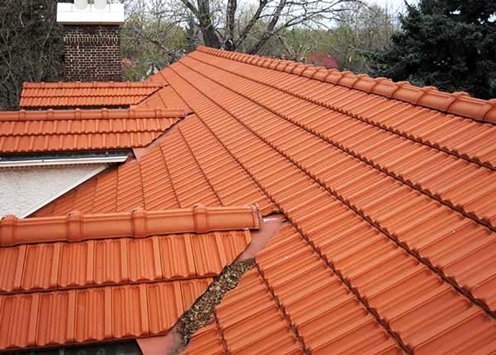 Tiled roofing ceramic Malinslee Telford