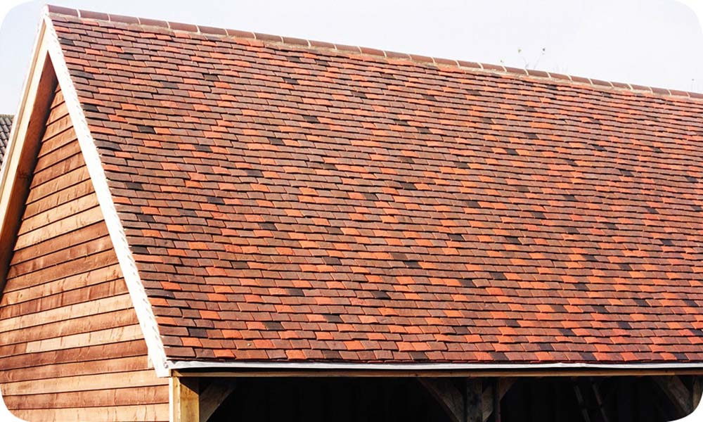 Tiled roofing in Clay Donnington