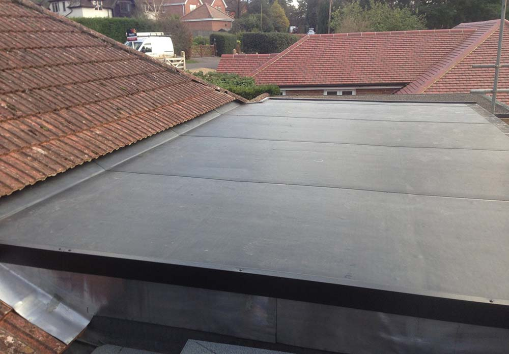 Rubber roofing Telford Shropshire