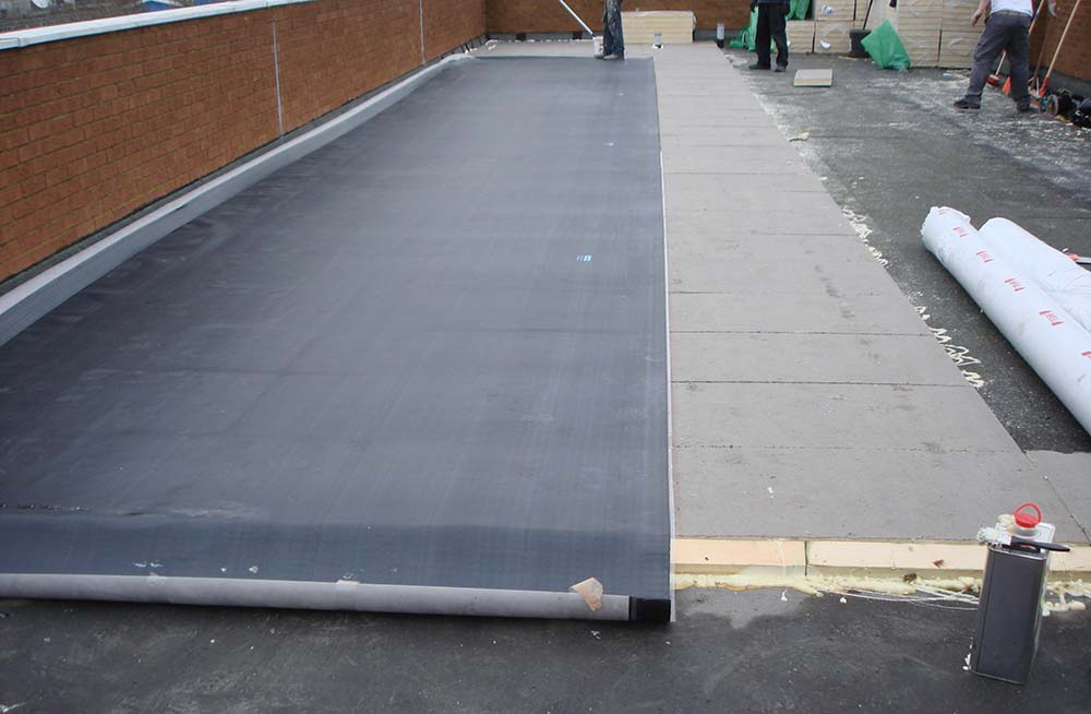 Rubber roofing Dawley Telford