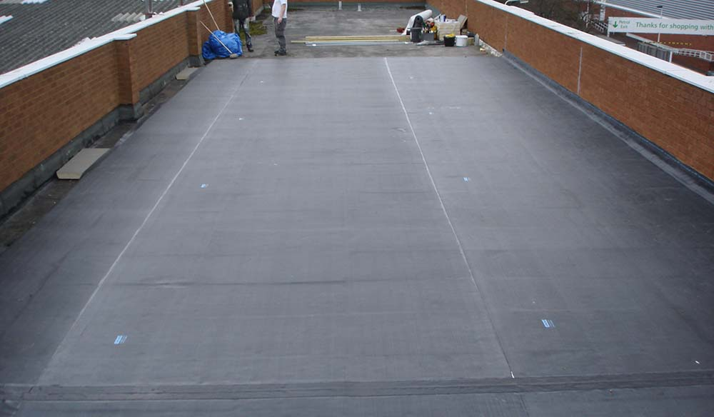 EPDM Rubber roofing Telford