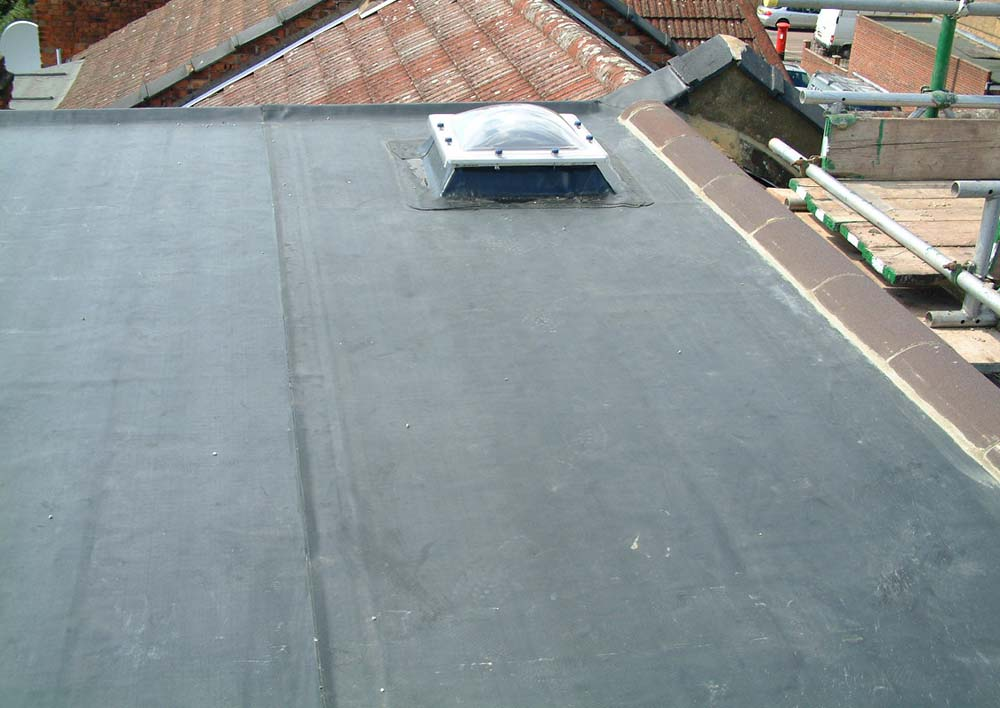 Rubber roofing Stafford