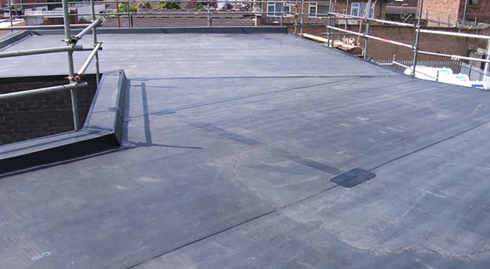 Rubber roofing Telford