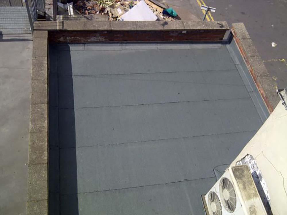 Flat felt roofing Madeley Telford