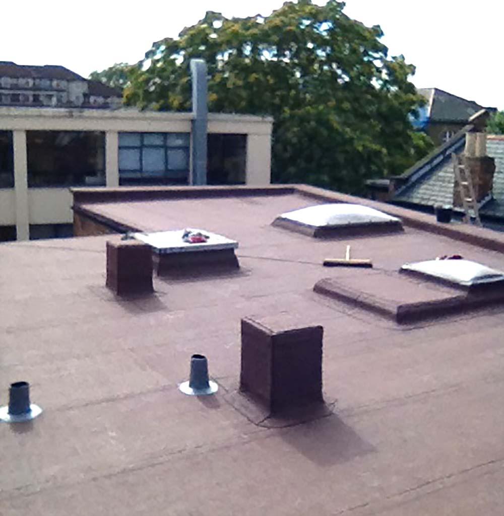 Flat felt roofing Ketley Bank Telford