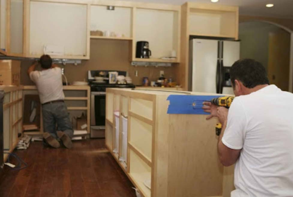 Kitchen fitting Shipley Shropshire