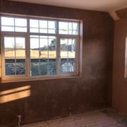Check out my latest plastering job...