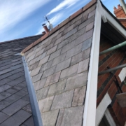 Just finished a natural slate roof...