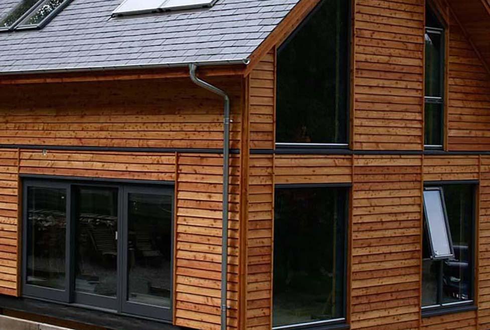 house cladding Tweedale Shropshire