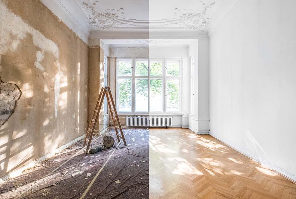 house renovation Tweedale Shropshire